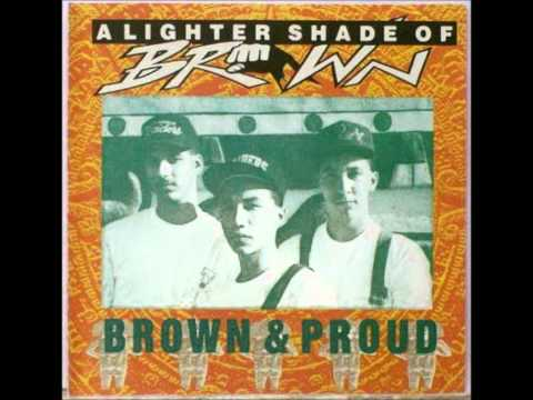 lighter shade of brown brown proud