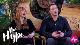 Chris Pratt and Bryce Dallas Howard on Returning to Jurassic World | The Hype | E!