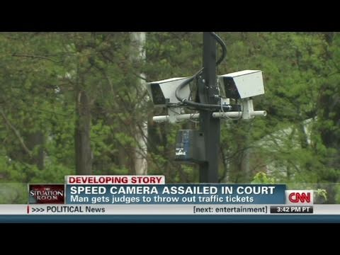 Man beats speed camera in court