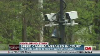 Man beats speed camera in court
