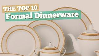 Formal Dinnerware // The Top 10 Best Sellers 2017