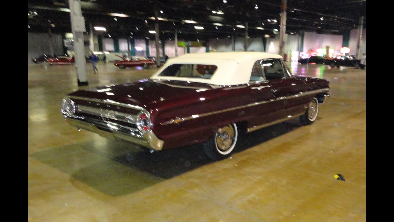 1963 ford galaxie 500 427 - 1964 Ford Galaxie 500xl Convertible R Code 427 Burgundy White My Car Story With Lou Costabile Youtube