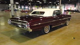 1964 Ford Galaxie 500XL Convertible R-Code 427 Burgundy & White - My Car Story with Lou Costabile