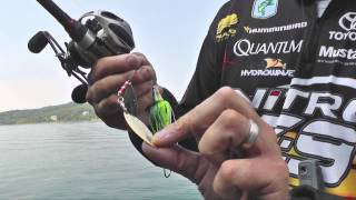 How to score using a Spinnerbait with Kevin VanDam
