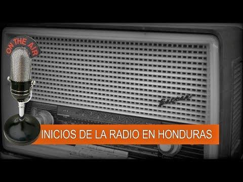 Inicios de la Radio en Honduras
