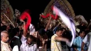 Procession of Padayani festival, Kerala