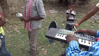 new santhali song bhangra playing group video 2017