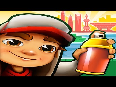 Subway Surfers Shanghai Android Gameplay #3