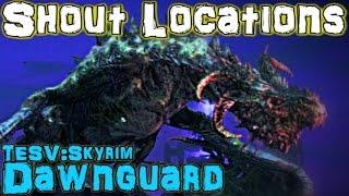 TESV: Dawnguard - All Shout & Word Wall Guide (DLC)