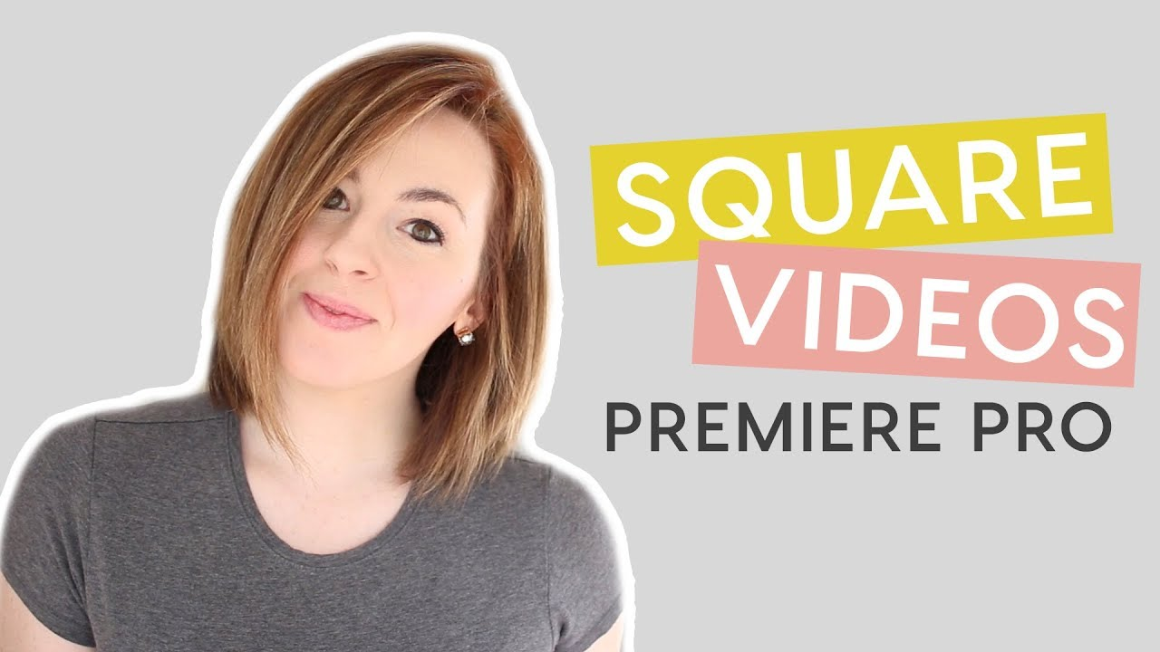 How to Make a Square Video in Premier Pro