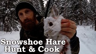 Catch n Cook Clean Snowshoe Hare! | EPIC Cooking Over Open Fire!!! | Survival Foods Mp3