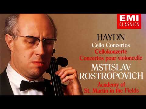 Haydn - The Cello Concertos (recording of the Century : Mstislav Rostropovich/Brown)