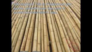 03:01creasian's Real-bamboo Poles|grass Fast-palm Thatch Roofing-bamboo Mat Woven-bamboo Fence