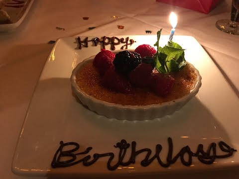 Ruth's Chris Steak House  To Celebrate Birthday Party 2018