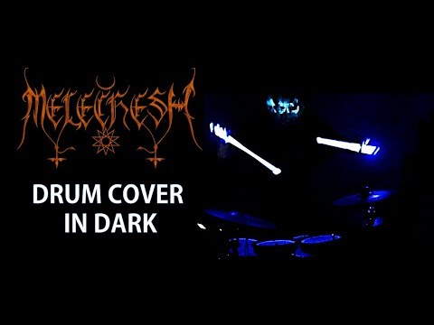Melechesh Only Drums - Glowing Drum Sticks - Defeating The Giants
