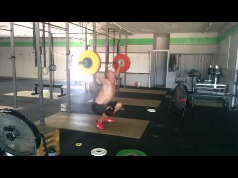 Willie McLendon 109kg Snatch 7/17/15