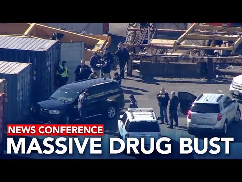 LIVE: Massive cocaine bust at Port of Philadelphia
