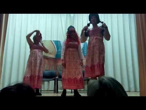 Три девицы вечерком собрались к подруге в дом разомлели размечтались