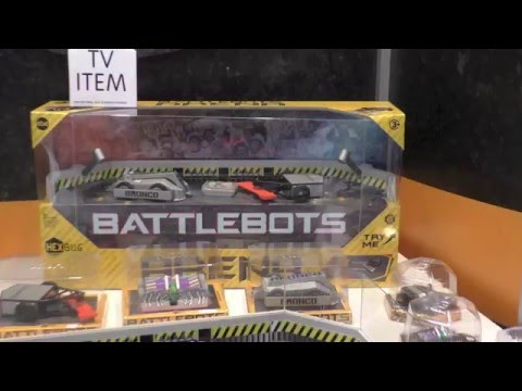hexbug-battlebots,-first-look-toy-fair-2016-at-battle-bots-from-hex-bugs