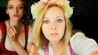 АСМР Медицинская помощь после Oktoberfest: забота двух девушек/medical examination