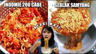 NYARI MATI! Indomie 200 CABE + Seblak Samyang MP3