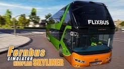 Der NEOPLAN SKYLINER im FERNBUS SIMULATOR #45 - Mit dem Doppeldecker Flixbus durch die Lande!