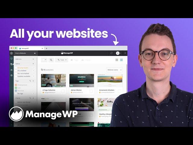 How to Manage Multiple Websites with ManageWP on Wordpress (MainWP Alternative)
