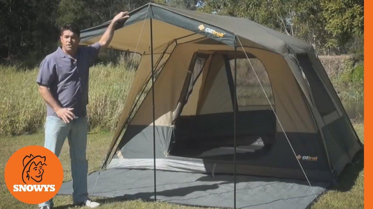 Oztrail Fast Frame Tourer Tent  sc 1 st  YouTube & Oztrail Fast Frame Tourer Tent - YouTube