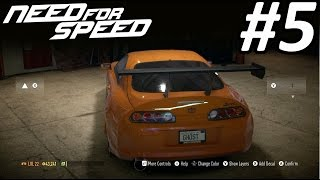 Need for Speed 2015 Walkthrough Part 5: Drifting in a Supra!