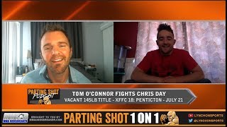 Top Canadian Prospect Tom O'Connor talks XFFC 145lb Title Fight July 21