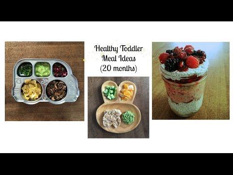 Healthy Toddler Meals 20 months (gluten & dairy free + vegan breakfast bonus)