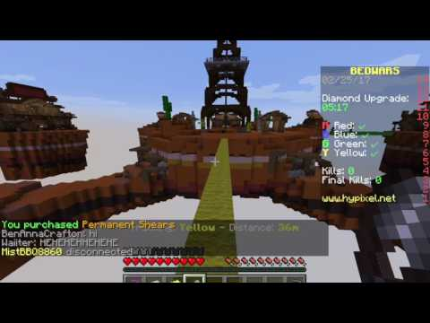 Minecraft Bed Wars On Pc YouTube - Minecraft bedwars spielen online