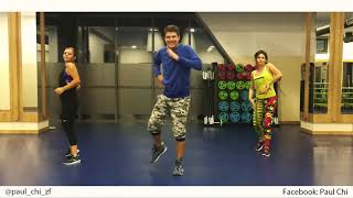 Prince Royce - La Carretera - Zumba Fitness Choreo by Paul Chi