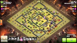 Clash of Clans - Town Hall 11 3-star, TH11 - Mass Golem - War 115 vs MKs Revenge - BEN vs #1