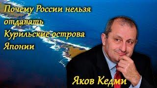 Яков Кедми. Почему России нельзя отдавать Курильские острова Японии