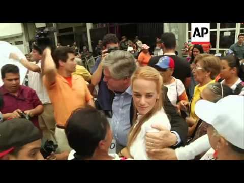 Latest on trial of opposition leader Leopoldo Lopez