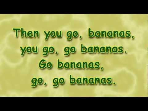 Form Banana (Go Bananas) - Camp Song - Lyrics