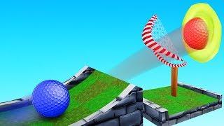 TROLLING My Friends in a PRANK Golf It Map!