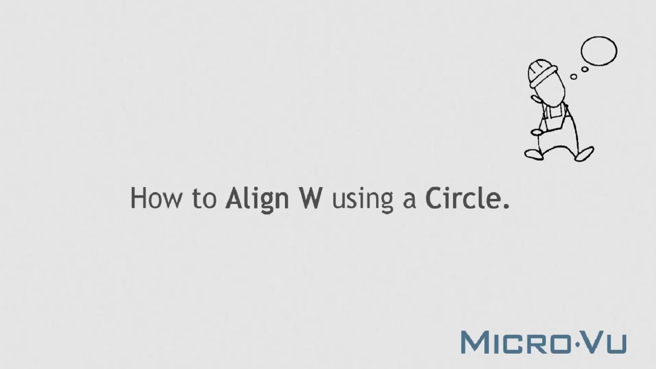 Inspec how to: align w using a circle youtube.