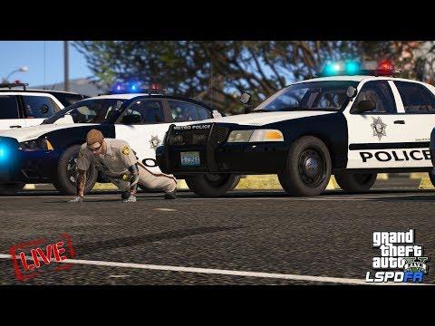 GTAV-LSPDFR Day-351 [Live Patrol] Las Vegas Metro Police