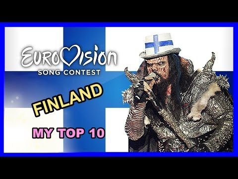 Finland in Eurovision - My Top 10 [2000 - 2018]