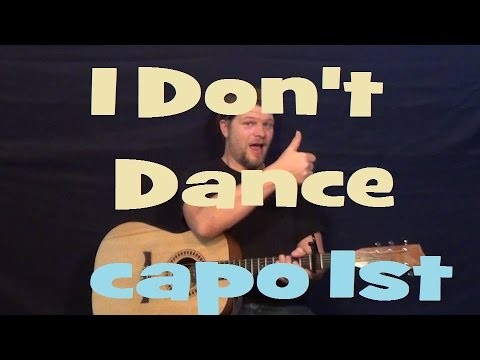 I Don't Dance (Lee Brice) Easy Guitar Lesson How to Play Tutorial