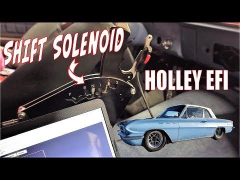 Holley EFI Shift Solenoid I/O Output Setup