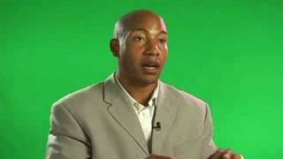 Youth Motivational Speaker Frank Brown Sr is interviewed