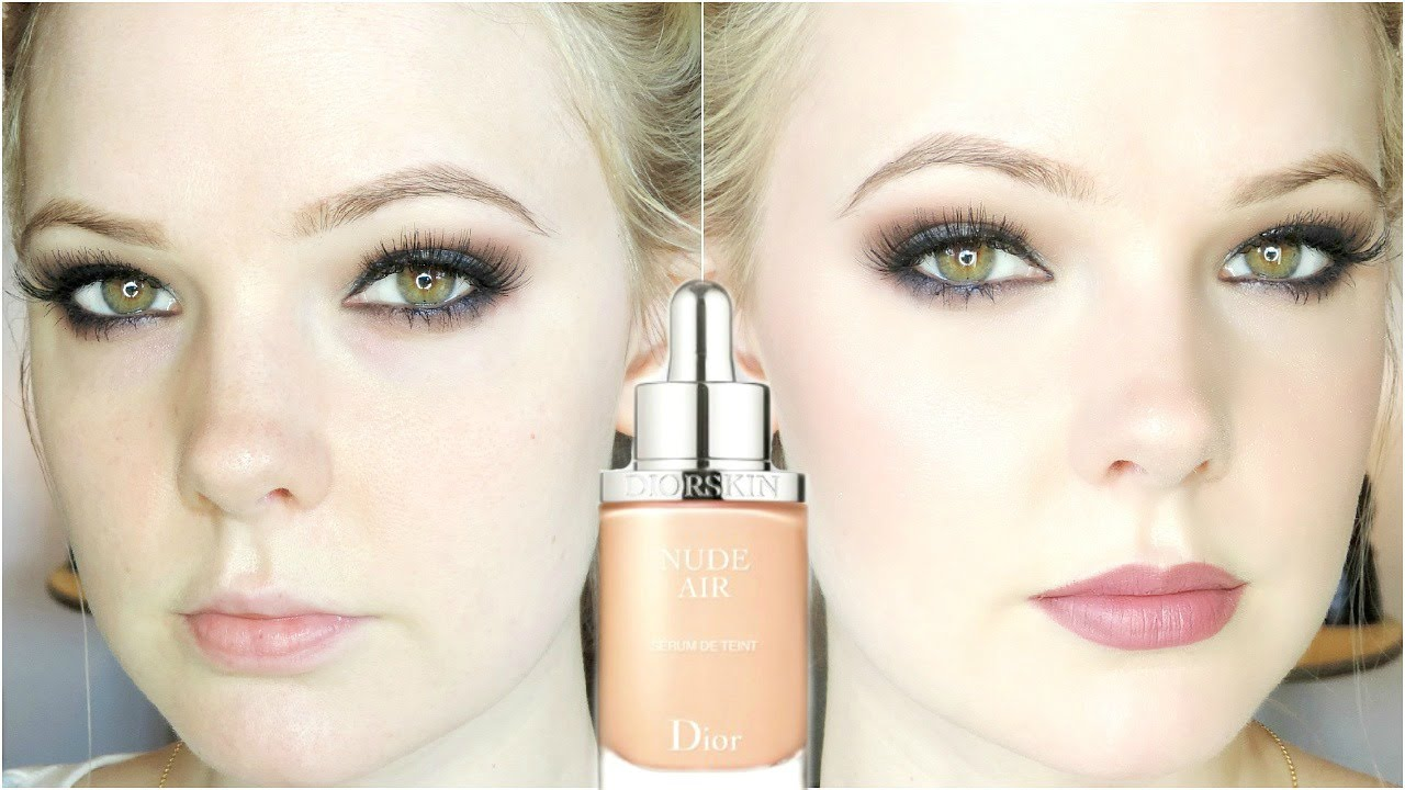 DIOR NUDE AIR SERUM | Review And Demo - YouTube