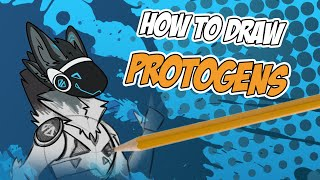 How to Draw a Protogen