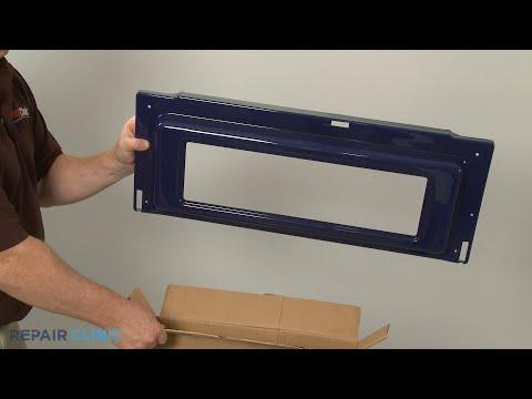 Upper Inner Door Liner - Kitchenaid Double Oven Gas Range (Model #KFGD500ESS04)