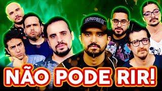 NÃO PODE RIR! com 4 AMIGOS (Thiago Ventura, Afonso Padilha, Diih Lopes e Marcio Donato)