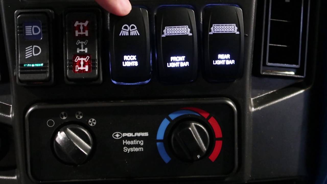 Rocker Switches Youtube Led Light Bar Wiring Harness