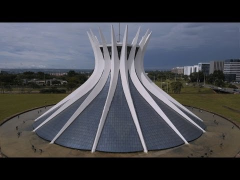 Metropolitan Cathedral of Our Lady Aparecida - Seven Wonders of Brazil: Preview - BBC Two
